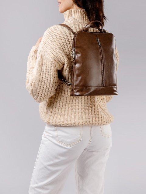 Коричневый рюкзак S.Lavia (Славия) - артикул: 822 586 52 - ракурс 2