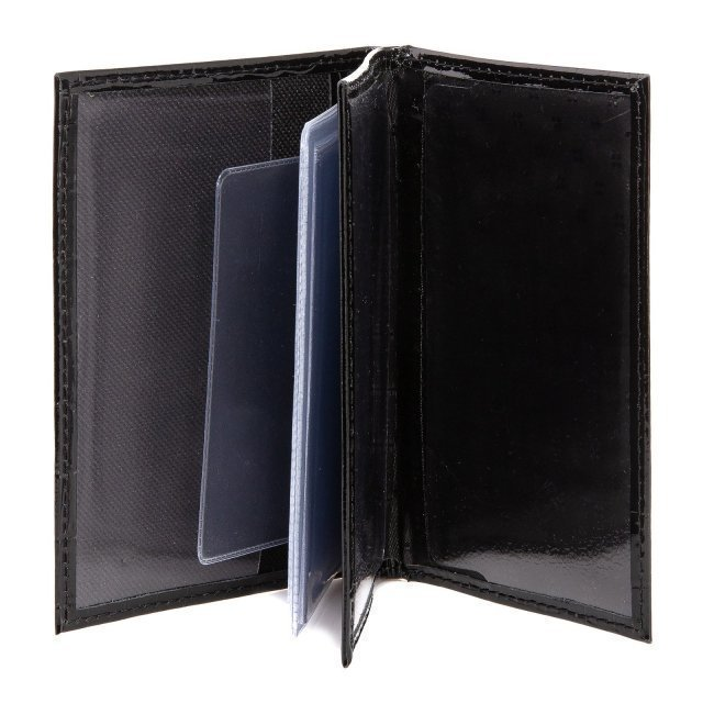 Чёрная обложка для документов S.Lavia (Славия) - артикул: К0000016371 - ракурс 2