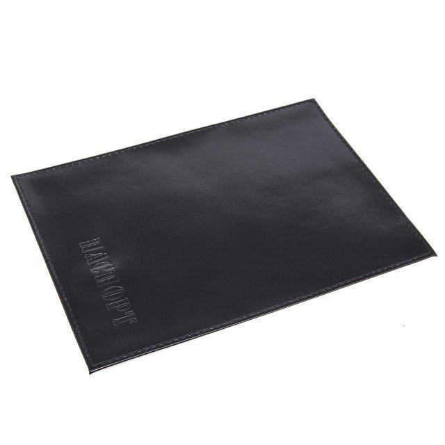 Чёрная обложка для документов S.Lavia - 290.00 руб