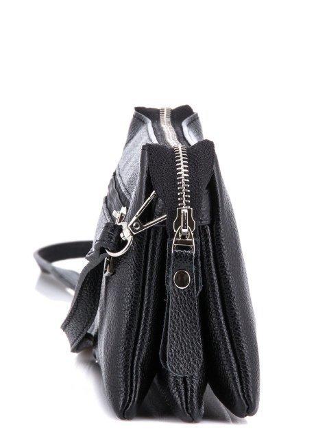 Чёрная сумка планшет S.Lavia (Славия) - артикул: 0027 13 01 - ракурс 3