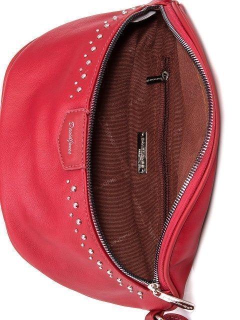 Красная сумка на пояс David Jones (Дэвид Джонс) - артикул: 0К-00005937 - ракурс 4