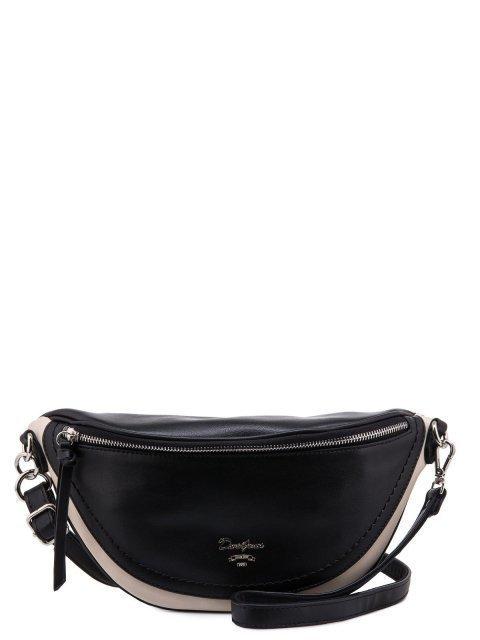 Чёрная сумка на пояс David Jones - 1231.00 руб