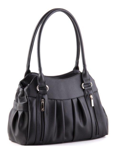 Чёрная сумка классическая S.Lavia (Славия) - артикул: 366 97 01 - ракурс 1