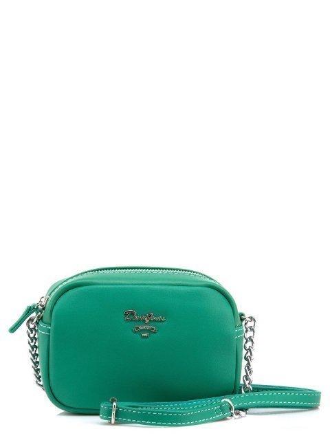 Зелёная сумка планшет David Jones - 950.00 руб