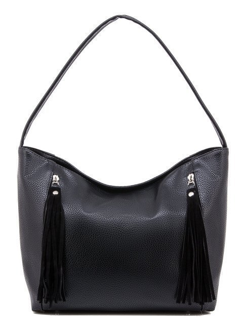 Чёрная сумка мешок S.Lavia - 1540.00 руб
