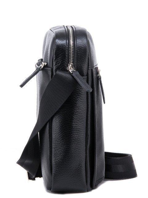 Чёрная сумка планшет S.Lavia (Славия) - артикул: 0036 12 01 - ракурс 2