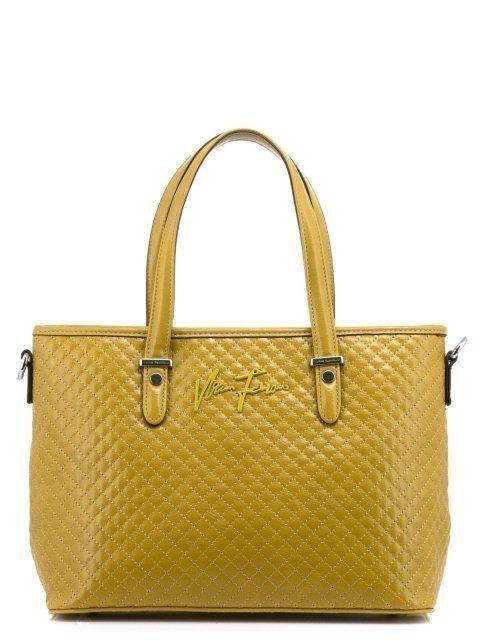 Жёлтая сумка классическая Fabbiano - 1800.00 руб