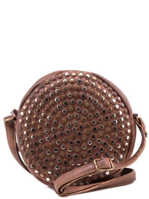 Коричневая сумка планшет Domenica - 1150.00 руб