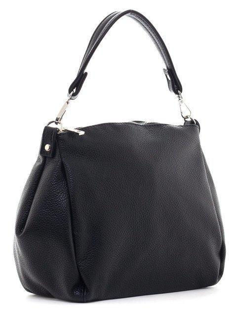 Чёрная сумка мешок S.Lavia (Славия) - артикул: 829 902 01 - ракурс 1