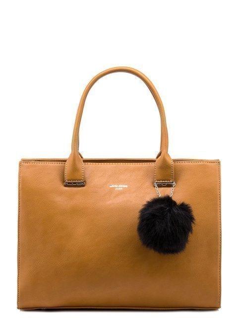 Жёлтая сумка классическая David Jones - 1399.00 руб