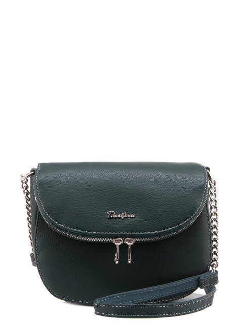 Зелёная сумка планшет David Jones - 1100.00 руб