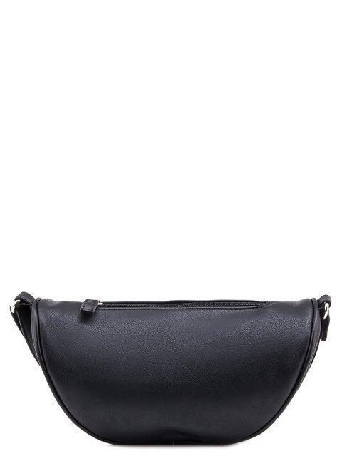Чёрная сумка на пояс David Jones (Дэвид Джонс) - артикул: 0К-00005936 - ракурс 3