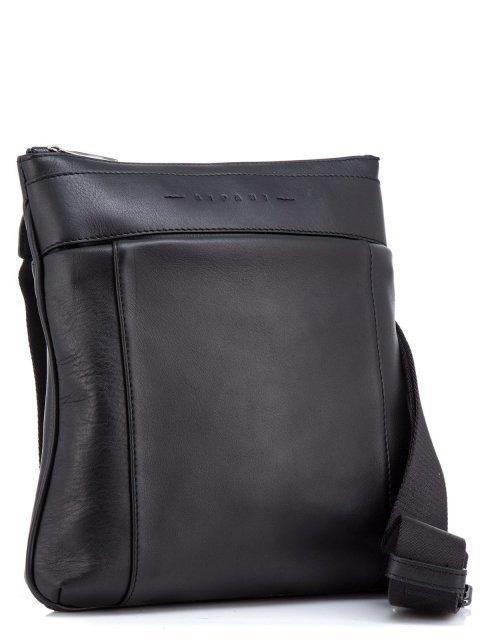 Чёрная сумка планшет Ripani (Рипани) - артикул: К0000033165 - ракурс 1