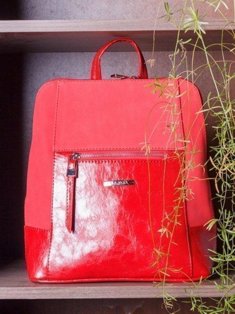 Красный рюкзак S.Lavia (Славия) - артикул: 928 677 04 - ракурс 5