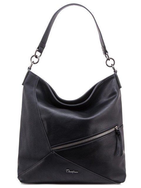 Чёрная сумка мешок David Jones - 1300.00 руб