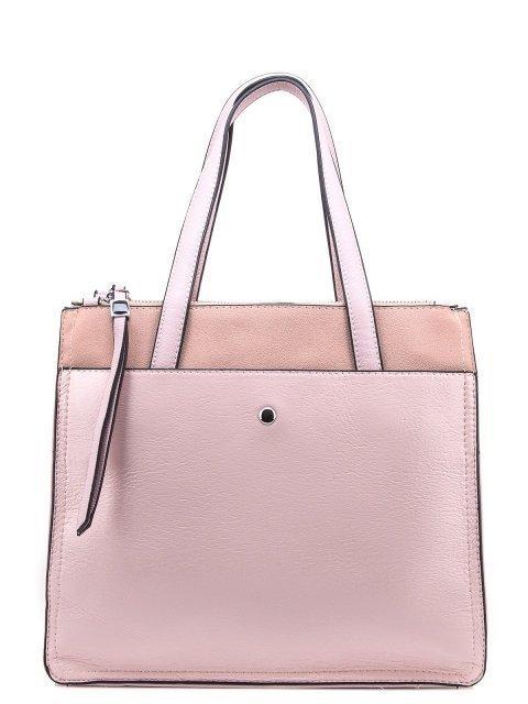 Розовый шоппер Domenica - 1450.00 руб