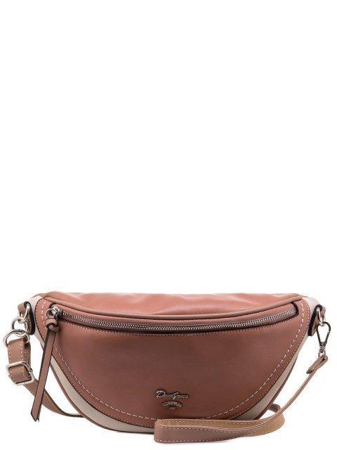 Розовая сумка на пояс David Jones - 1231.00 руб