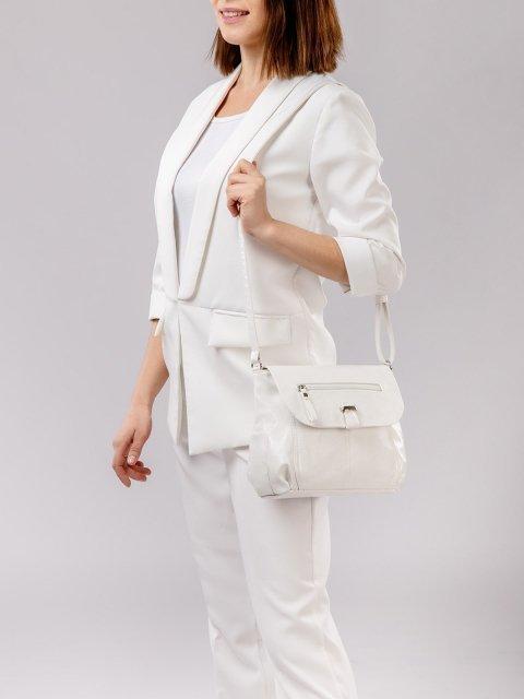 Белая сумка планшет S.Lavia (Славия) - артикул: 750 048 10 - ракурс 1