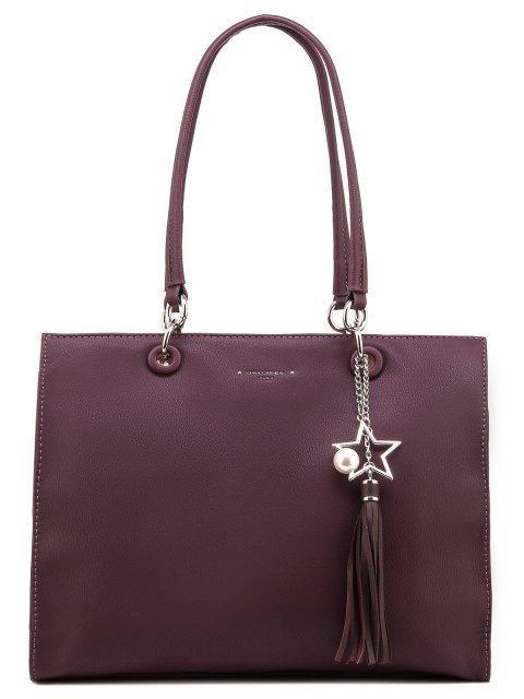 Бордовая сумка классическая David Jones - 1450.00 руб