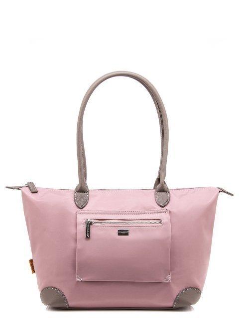 Розовый шоппер David Jones - 1100.00 руб