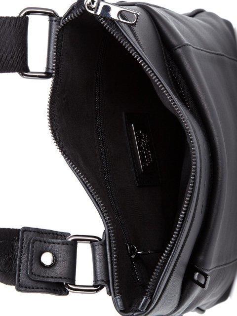 Чёрная сумка планшет Ripani (Рипани) - артикул: К0000033165 - ракурс 4