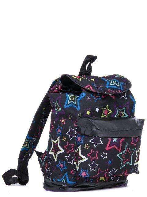 Чёрный рюкзак Lbags (Эльбэгс) - артикул: К0000029824 - ракурс 1