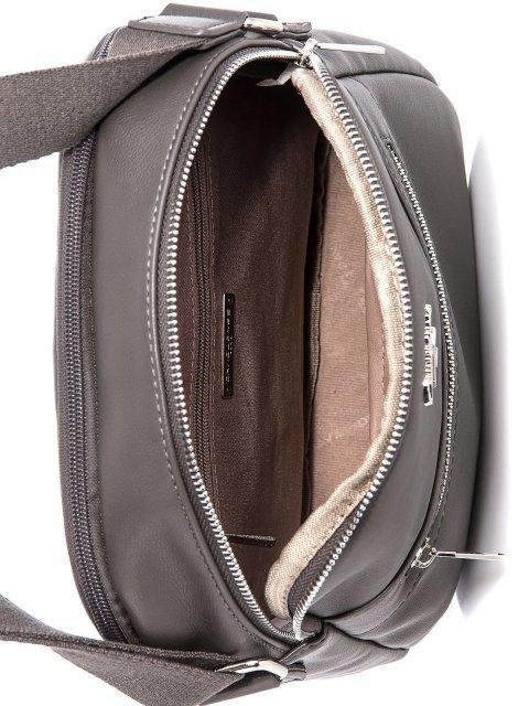 Серая сумка планшет David Jones (Дэвид Джонс) - артикул: К0000033939 - ракурс 4