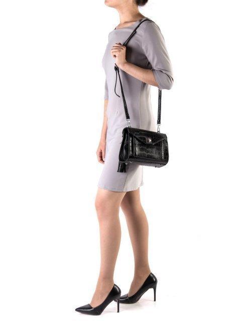 Чёрная сумка планшет S.Lavia (Славия) - артикул: К0000025922 - ракурс 1