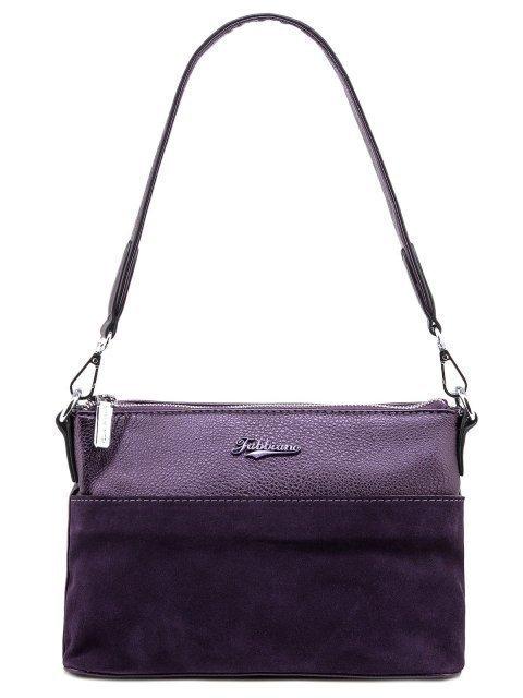 Фиолетовая сумка планшет Fabbiano - 1400.00 руб