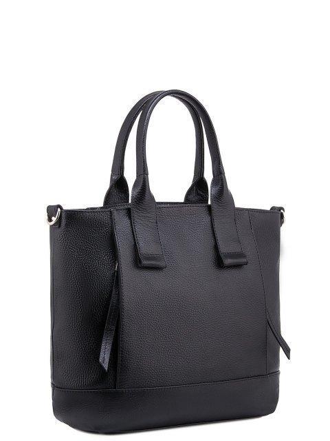 Чёрная сумка классическая S.Lavia (Славия) - артикул: 0050 12 01 - ракурс 3
