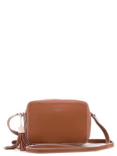 Рыжая сумка планшет David Jones - 1100.00 руб