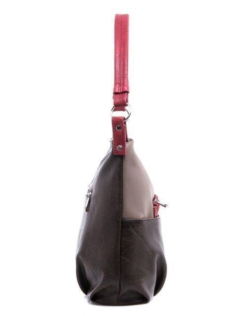 Коричневая сумка мешок S.Lavia (Славия) - артикул: 405 512 52 - ракурс 2