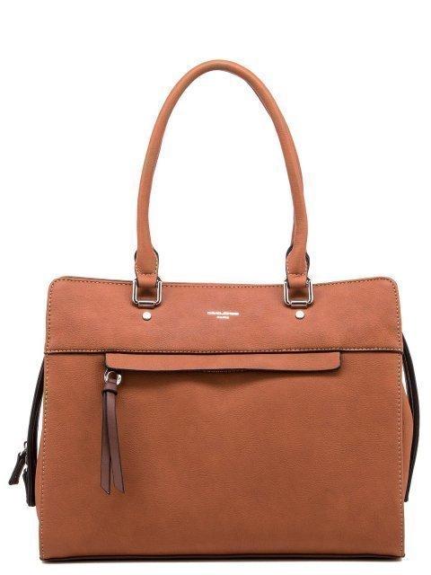 Рыжая сумка классическая David Jones - 1300.00 руб