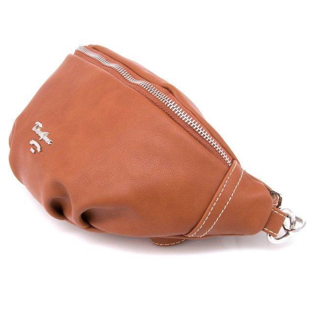 Рыжая сумка на пояс David Jones (Дэвид Джонс) - артикул: 0К-00002381 - ракурс 2