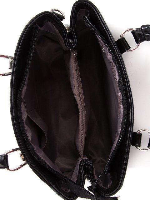 Чёрная сумка классическая S.Lavia (Славия) - артикул: 743 586 01 - ракурс 4