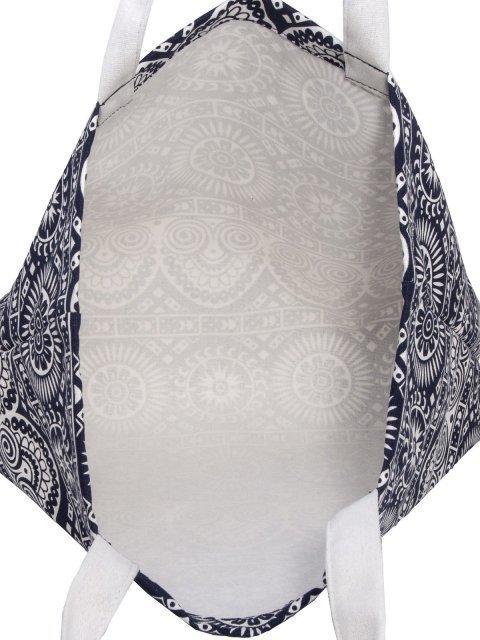 Синий шоппер S.Lavia (Славия) - артикул: 00-62 30 71 - ракурс 4