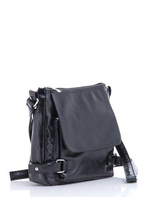 Чёрная сумка планшет S.Lavia (Славия) - артикул: 501 048 01 - ракурс 1