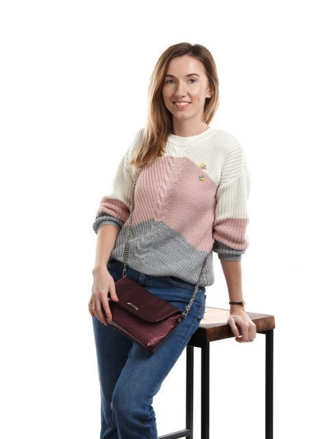 Бордовая сумка планшет S.Lavia (Славия) - артикул: 917 571 03 - ракурс 1