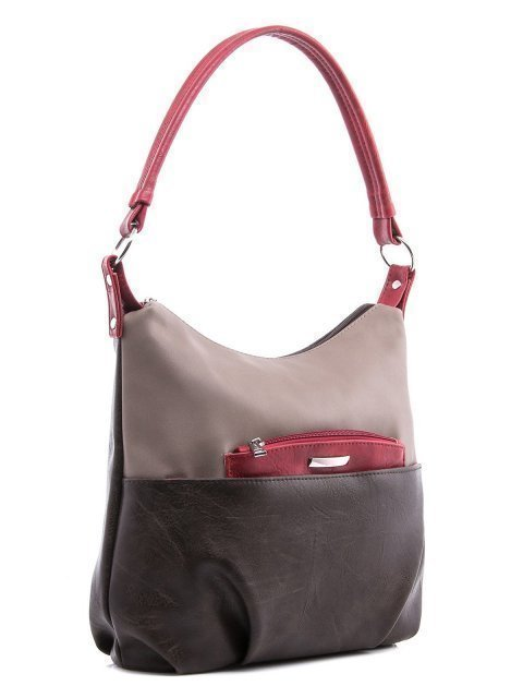 Коричневая сумка мешок S.Lavia (Славия) - артикул: 405 512 52 - ракурс 1