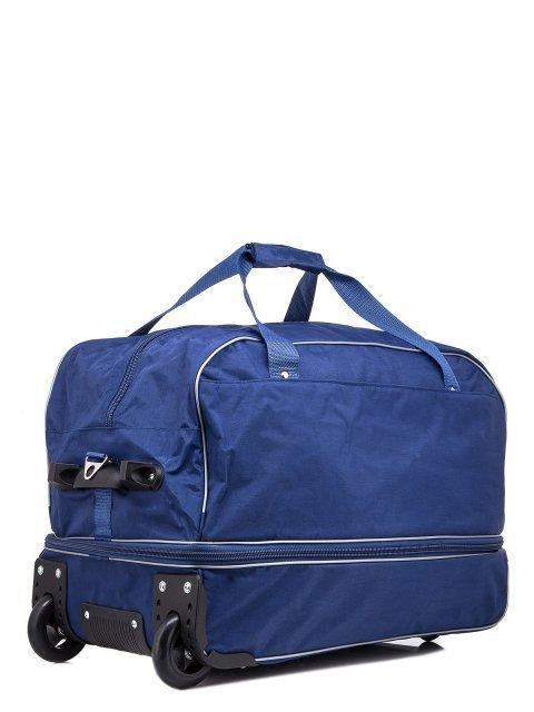 Синий чемодан Lbags (Эльбэгс) - артикул: К0000013256 - ракурс 1