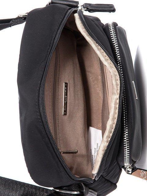 Чёрная сумка планшет David Jones (Дэвид Джонс) - артикул: К0000033942 - ракурс 4