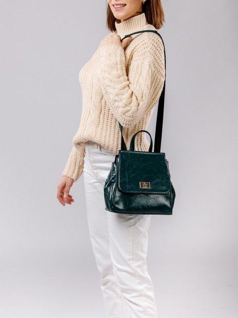 Зелёный рюкзак S.Lavia (Славия) - артикул: 877 048 31 - ракурс 1