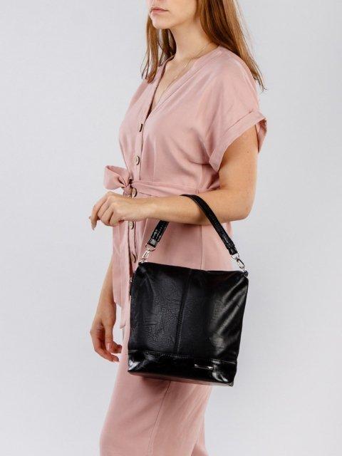 Чёрная сумка планшет S.Lavia (Славия) - артикул: 251 512 01 - ракурс 1