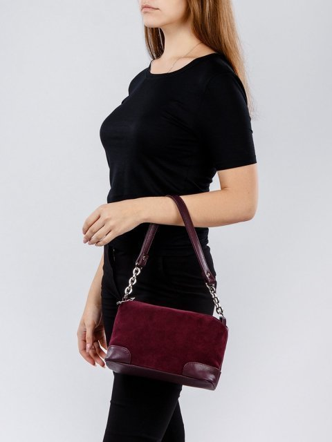 Бордовая сумка планшет S.Lavia (Славия) - артикул: 990 99 07 - ракурс 1