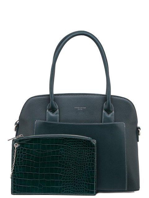 Зелёная сумка классическая David Jones - 1550.00 руб