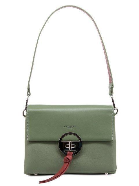 Зелёная сумка планшет David Jones - 1567.00 руб