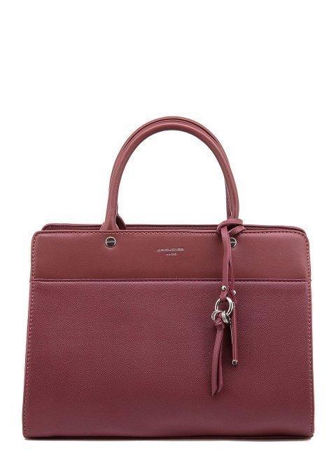 Красная сумка классическая David Jones - 1450.00 руб