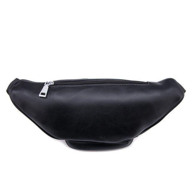 Чёрная сумка на пояс Domenica (Domenica) - артикул: 0К-00002086 - ракурс 3
