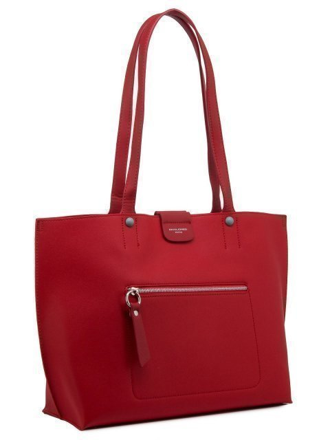 Красный шопер David Jones (Дэвид Джонс) - артикул: 0К-00010989 - ракурс 2
