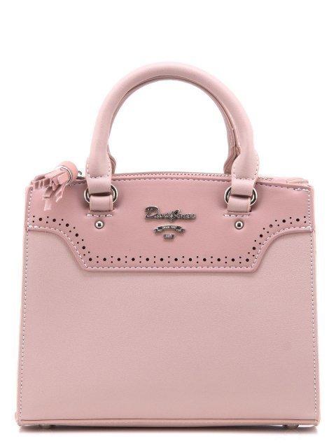 Розовая сумка классическая David Jones - 1400.00 руб